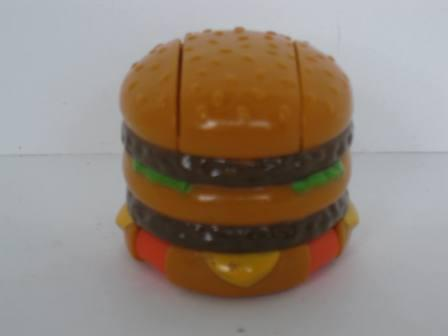 1990 McDonalds -# 3 Big Mac-O-Saurus Rex - McDino Changeables